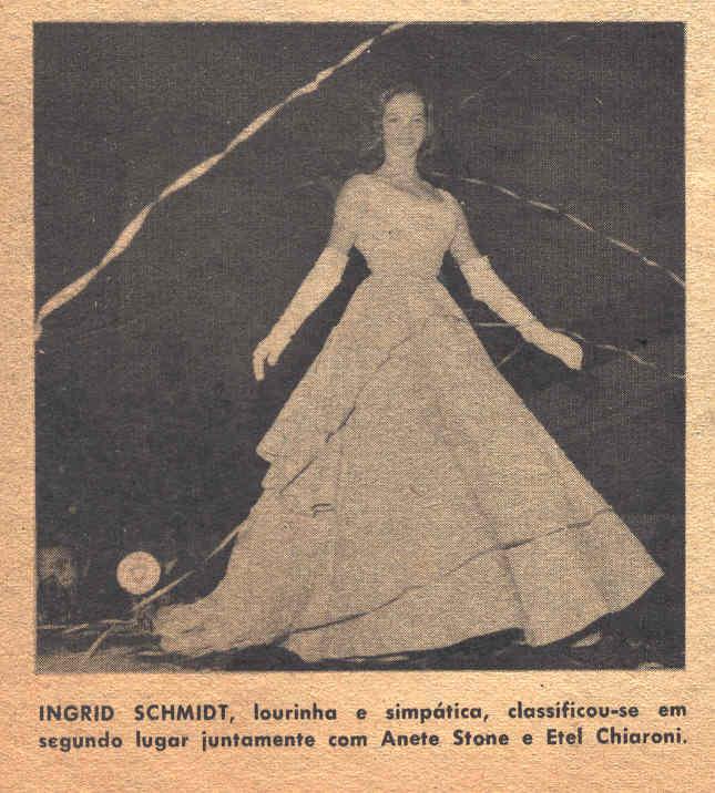 ingrid schmidt grael, miss rio de janeiro 1955 (1938-2008). † Ingrid14