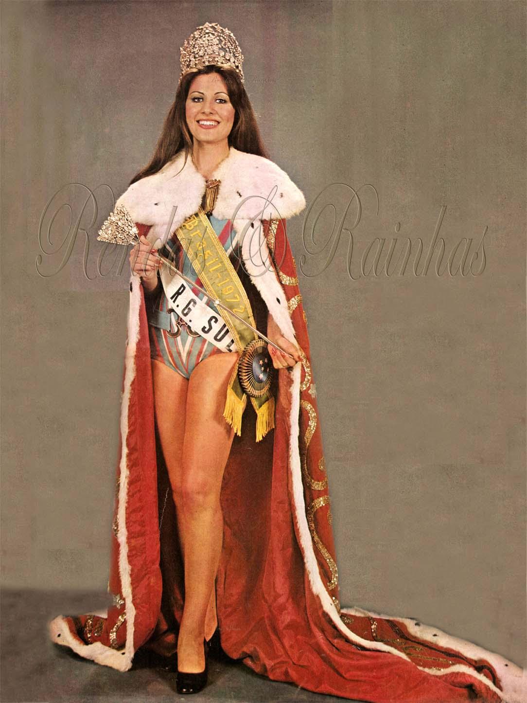 rejane goulart (rejane vieira), top 2 de miss universe 1972 (11/15/1954 - 12/26/2013). † Majest10