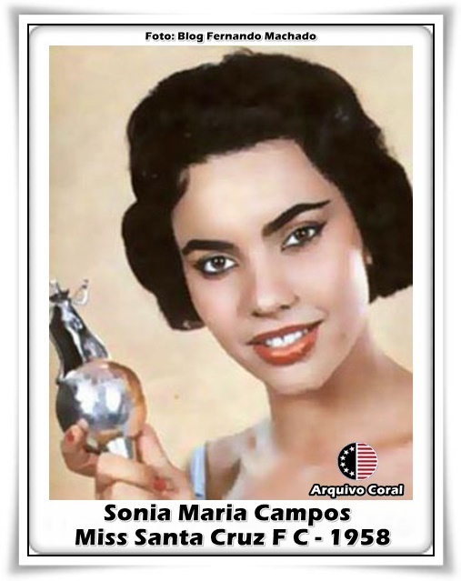 sonia maria campos, 6th runner-up de miss world 1958. primeira brasileira a participar de miss world. Mb-son10
