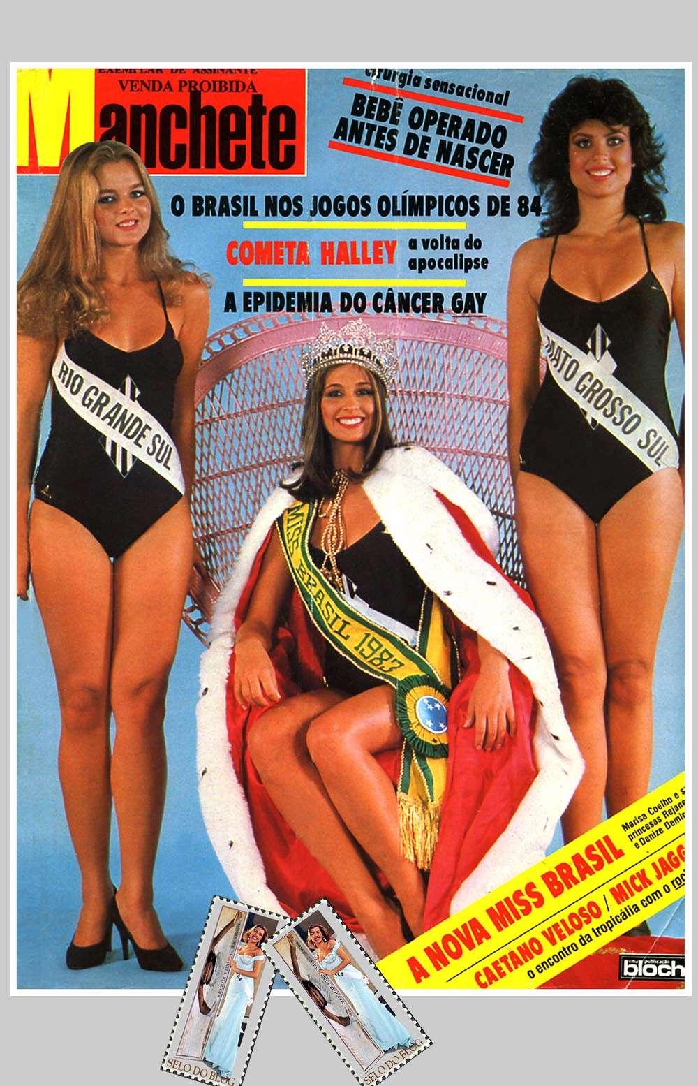 marisa fully coelho, miss brasil 1983 (1962 - 11/23/1998). † Missb810