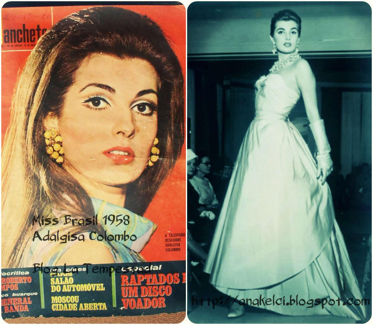 adalgisa colombo, top 2 de miss universe 1958. † Missbr10