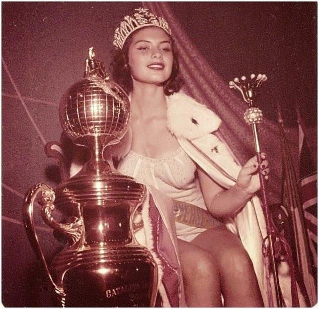 gladys zender, miss universe 1957. primera latina a vencer este concurso. - Página 2 Mu57210