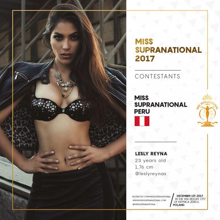 leslie reyna, miss eco peru 2021/miss supranational peru 2017. - Página 2 Peru4-10