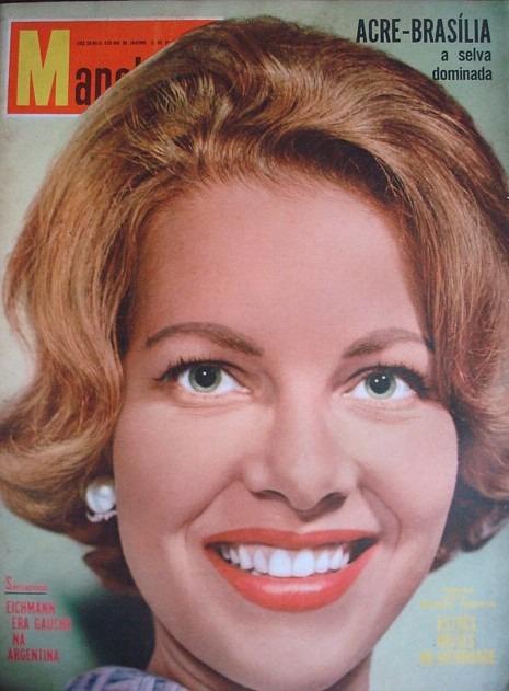 martha rocha, top 2 de miss universe 1954. primeira brasileira a participar de miss universe.†  - Página 2 Revist14