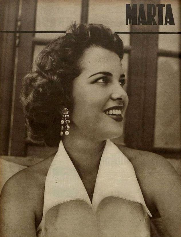 martha rocha, top 2 de miss universe 1954. primeira brasileira a participar de miss universe.†  - Página 2 Revist16