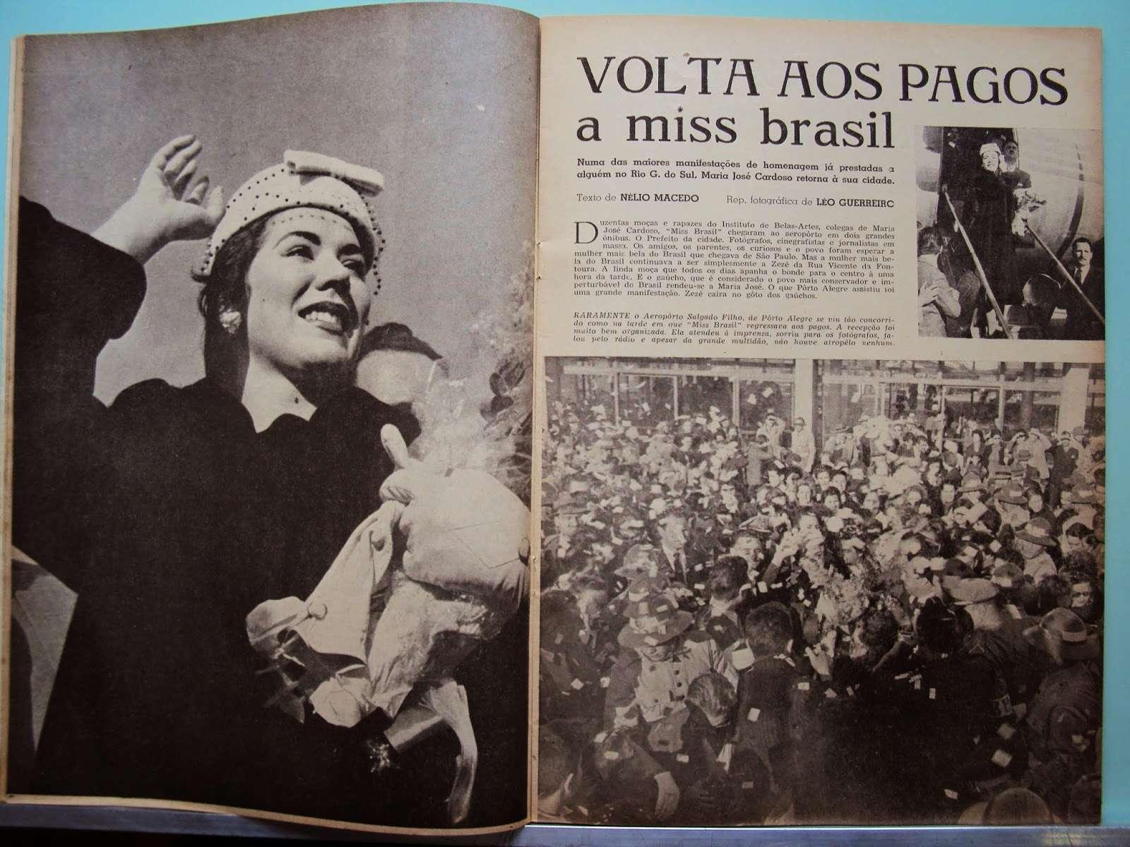 maria jose cardoso, semifinalista de miss universe 1956. Revist25