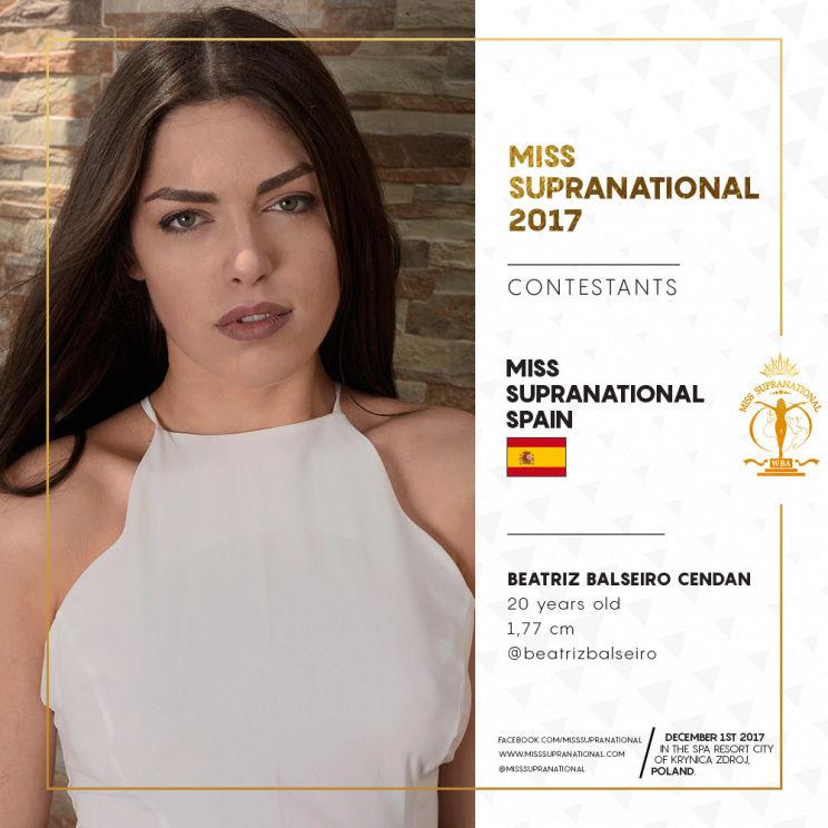 beatriz balseiro cendan, miss supranational spain 2017. - Página 2 Spain-10
