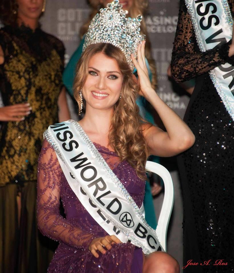 mireia lalaguna, miss world 2015. - Página 3 Spainw10