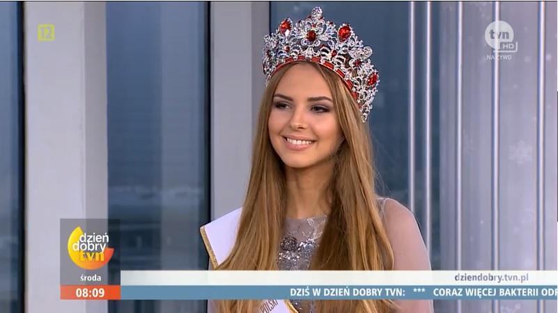 magdalena bienkowska, 2nd runner-up de miss supranational 2018/top 40 de miss world 2017/top 15 de miss international 2016. - Página 2 Tuem1h10