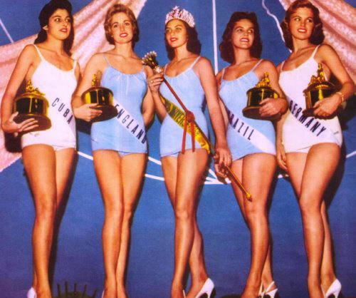 gladys zender, miss universe 1957. primera latina a vencer este concurso. Tumblr19