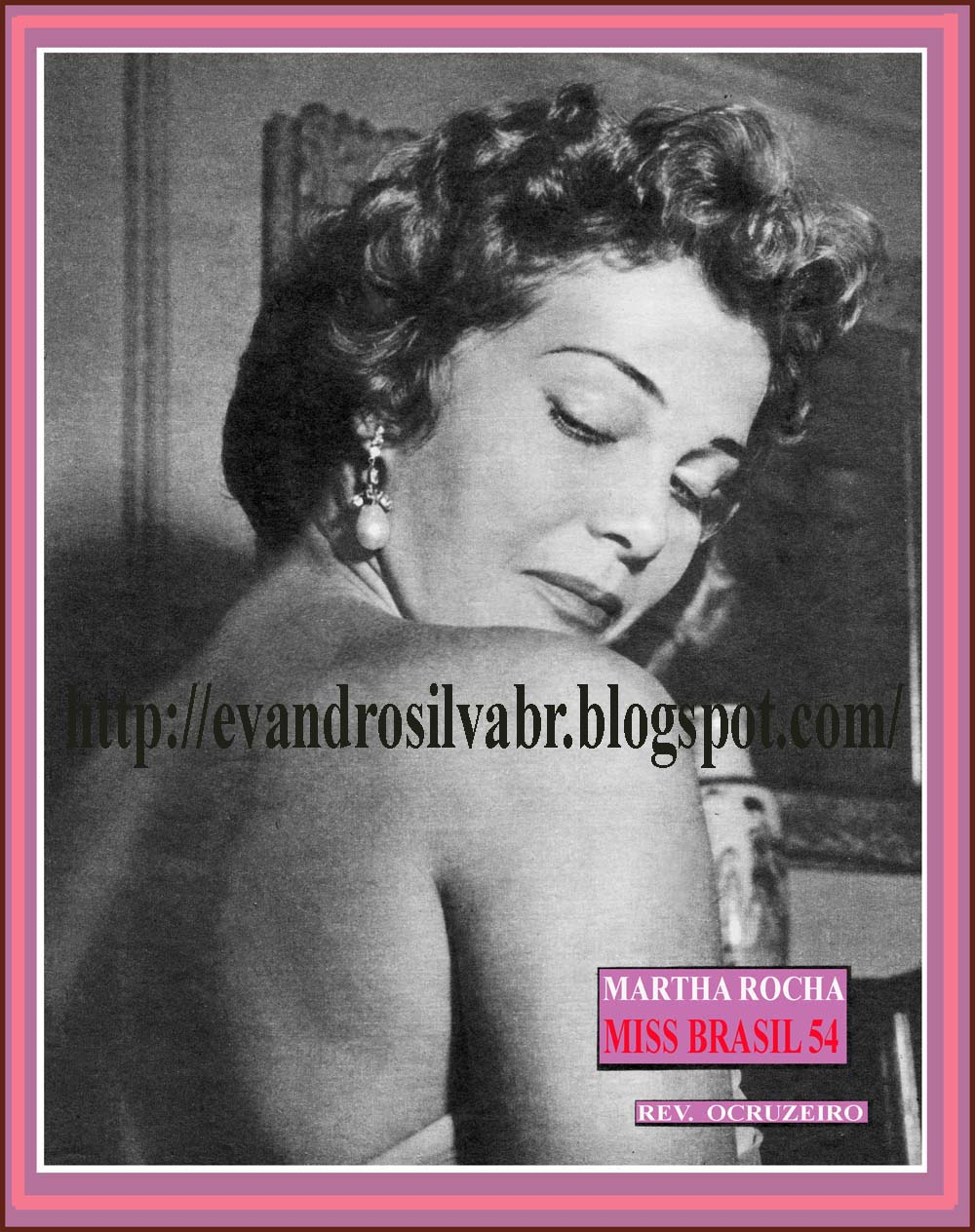 martha rocha, top 2 de miss universe 1954. primeira brasileira a participar de miss universe.†  - Página 2 Vintag10
