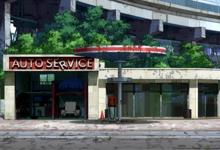 Garage auto-service