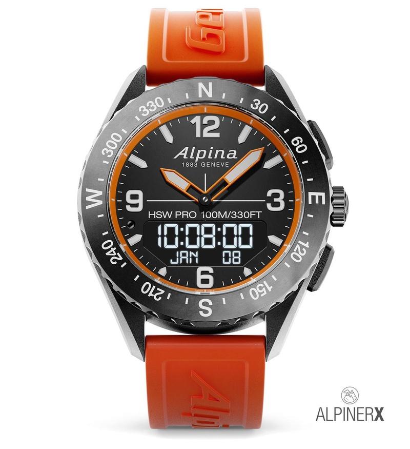 AlpinerX : Nouvelle smartwatch d'Alpina avec lancement Kickstarter Alpine12