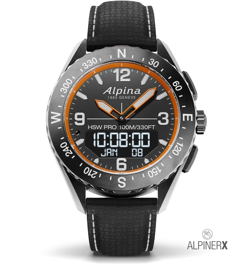 AlpinerX : Nouvelle smartwatch d'Alpina avec lancement Kickstarter Alpine13