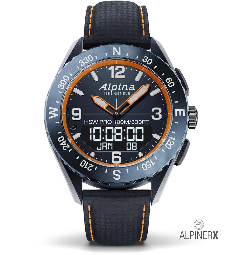 AlpinerX : Nouvelle smartwatch d'Alpina avec lancement Kickstarter Alpine14