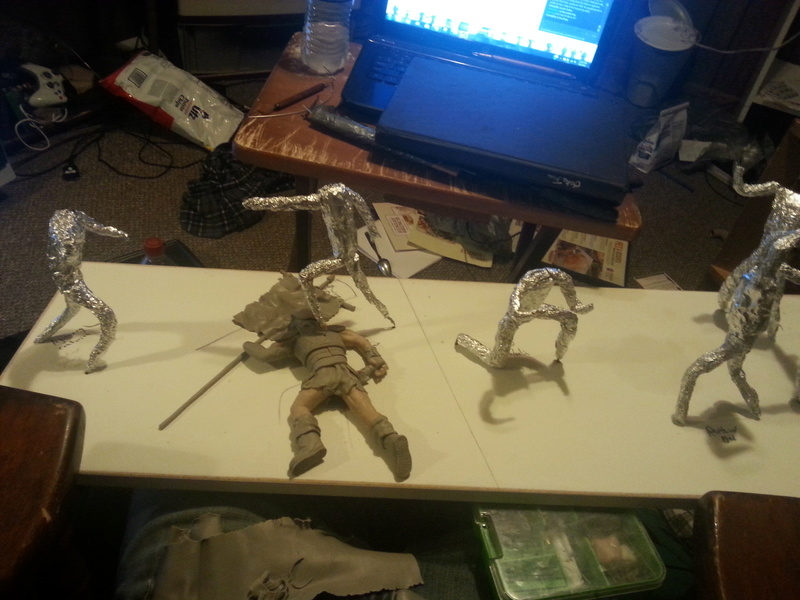 Fallout sculptures and other art I've made 20150610