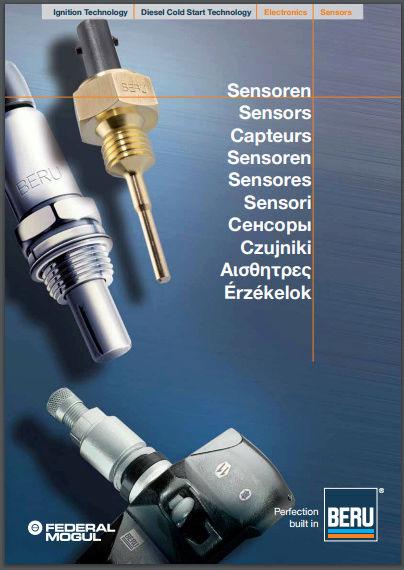 BERU Catalogue capteur Captur14
