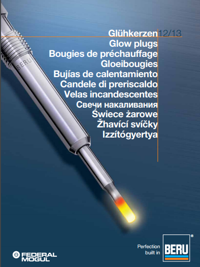 BERU catalogue bougie de préchauffage  Captur28