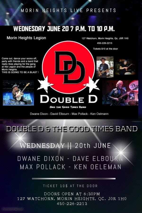 Double D Good Times Band June 20 2018 33784210