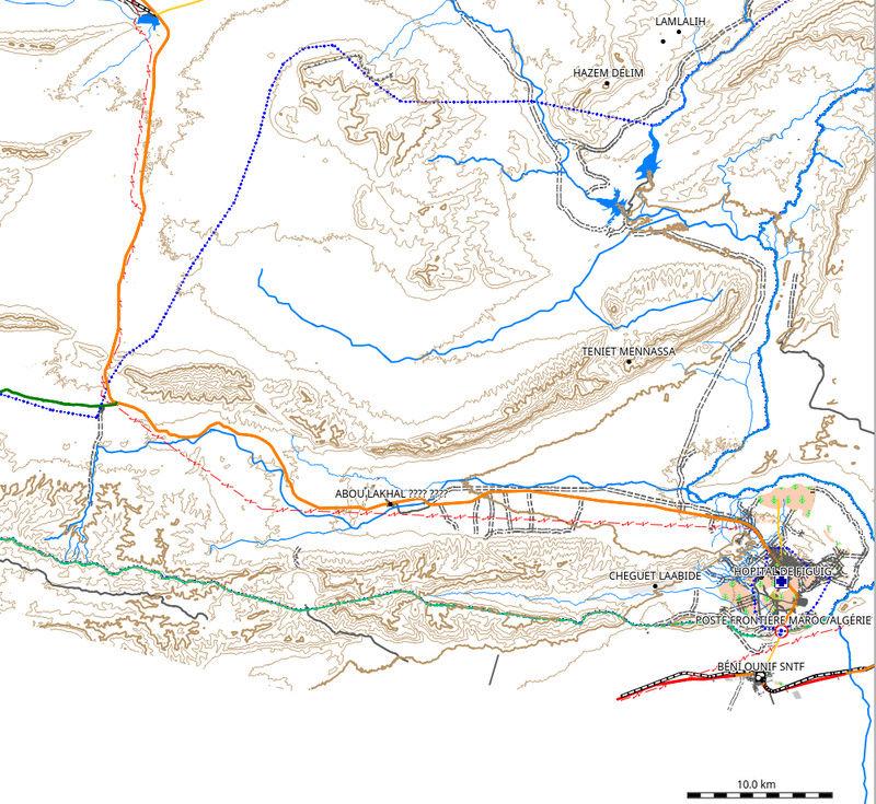 Carte olaf Marokko topo Captur12