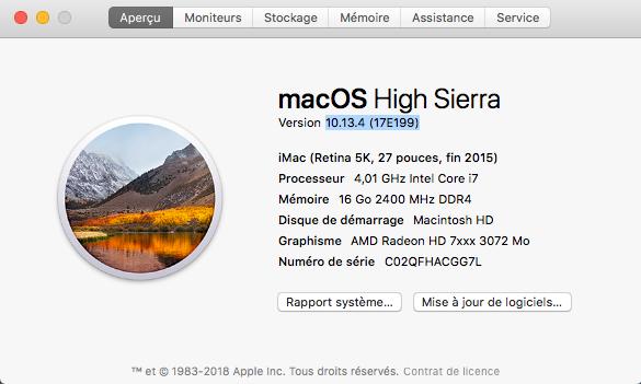 Mise a jour macOS High Sierra 10.13.4  Captur14