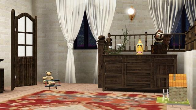Galerie de Ptitemu : quelques maisons. - Page 25 Chambk11