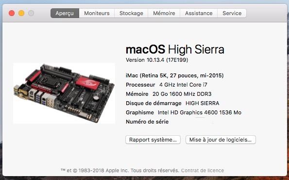 Mise a jour macOS High Sierra 10.13.4  Captur13