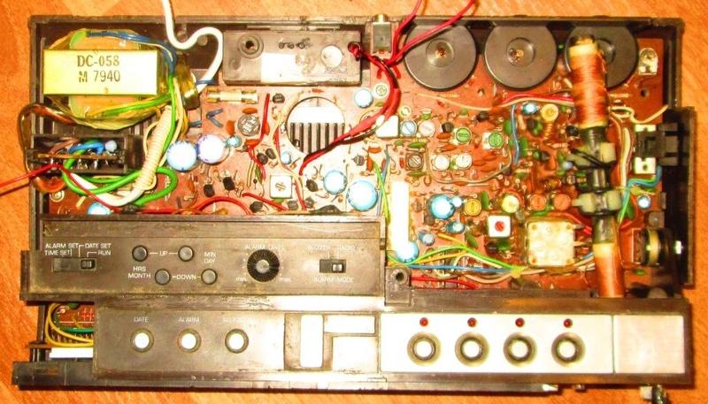 Зарубежные бытовые радиоприёмники Ozdiea33