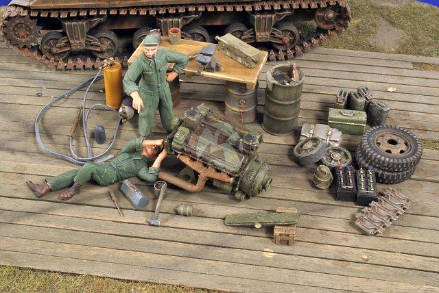M10 camo  hiver bastogne 2781-110