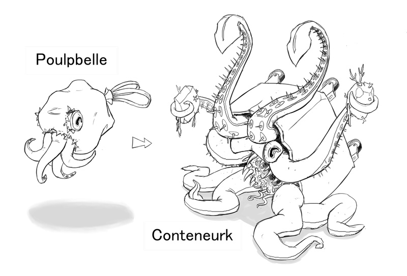 IM Challenge Nov17 – Les créatures du jeu Magaïa Poulpe12