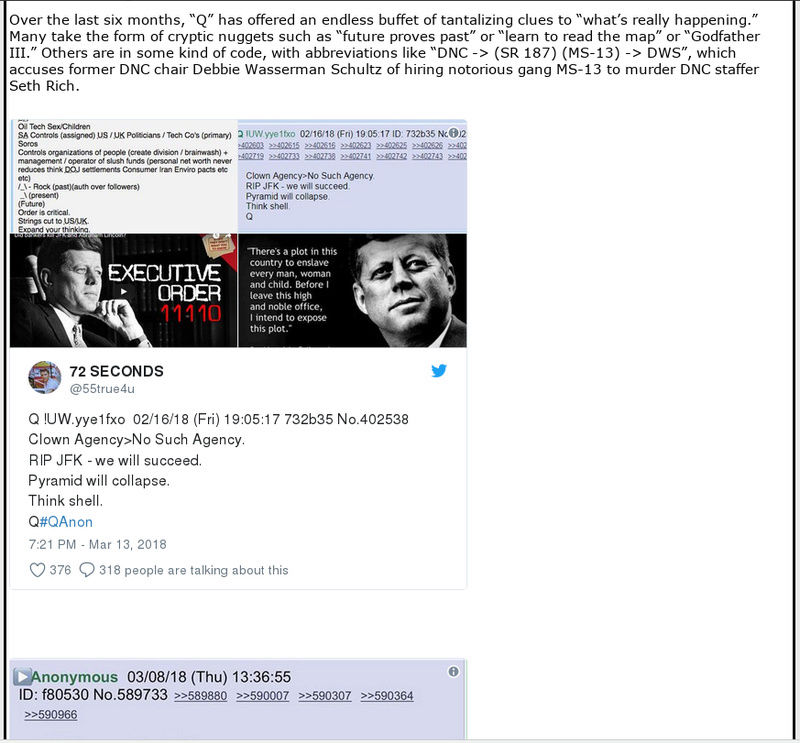 The QAnon conspiracy isn't new; it's the oldest scam out there Screen56