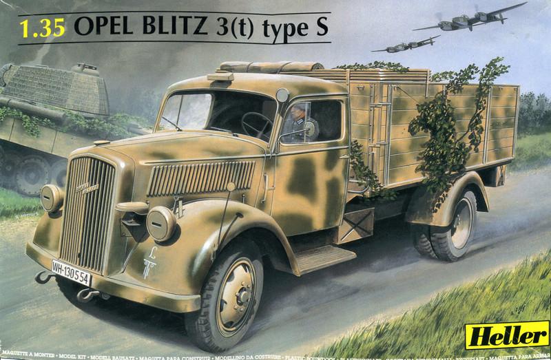 OPEL BLITZ 3(t) Type S 1/35ème Réf 81128  Opel_b10