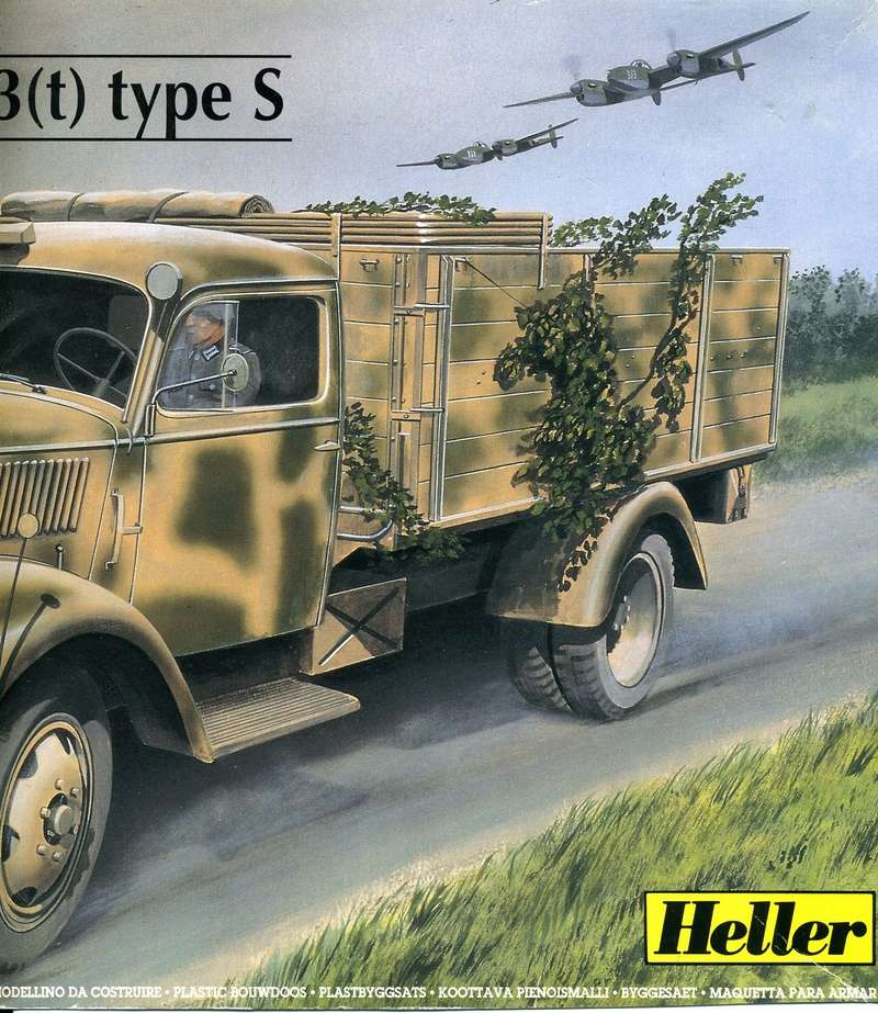 OPEL BLITZ 3(t) Type S 1/35ème Réf 81128  Opel_b11