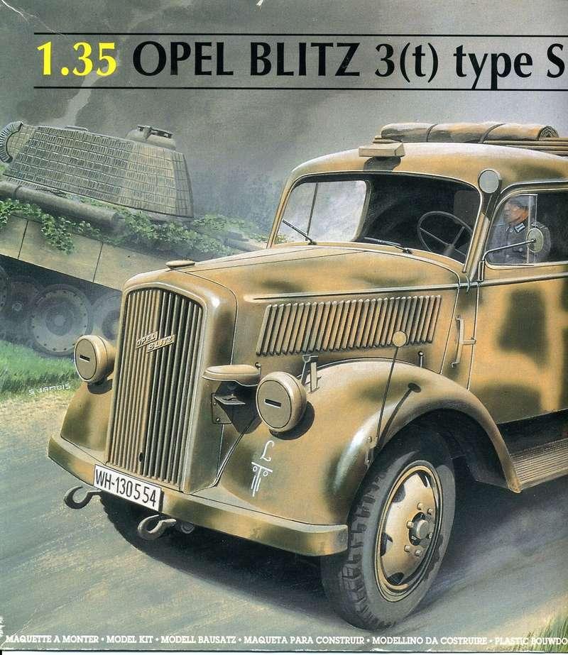 OPEL BLITZ 3(t) Type S 1/35ème Réf 81128  Opel_b12