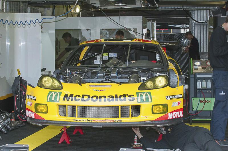 Corvette à Spa et Le Mans 15062017
