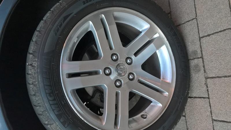 outlander - Cerchi in lega Chrysler C300 su outlander 2.0 did Wp_20110