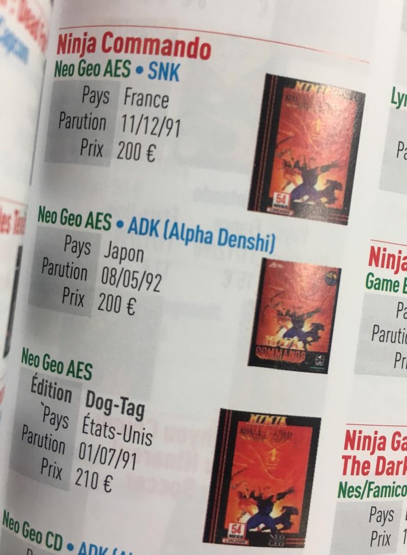COTE ou EVOLUTION des prix de vente : jeux AES en version US (only) - Page 11 Img_5914