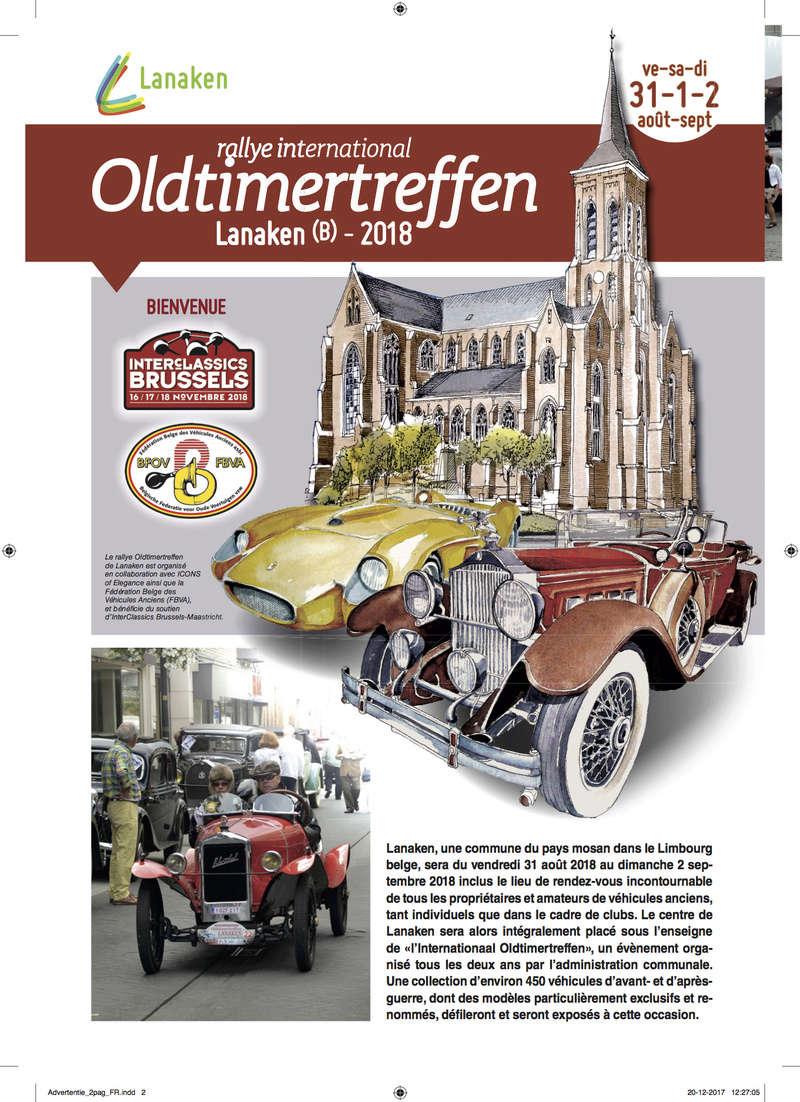 Oldtimertreffen LANAKEN - 31/08 au 02/09 2018 Lanake10