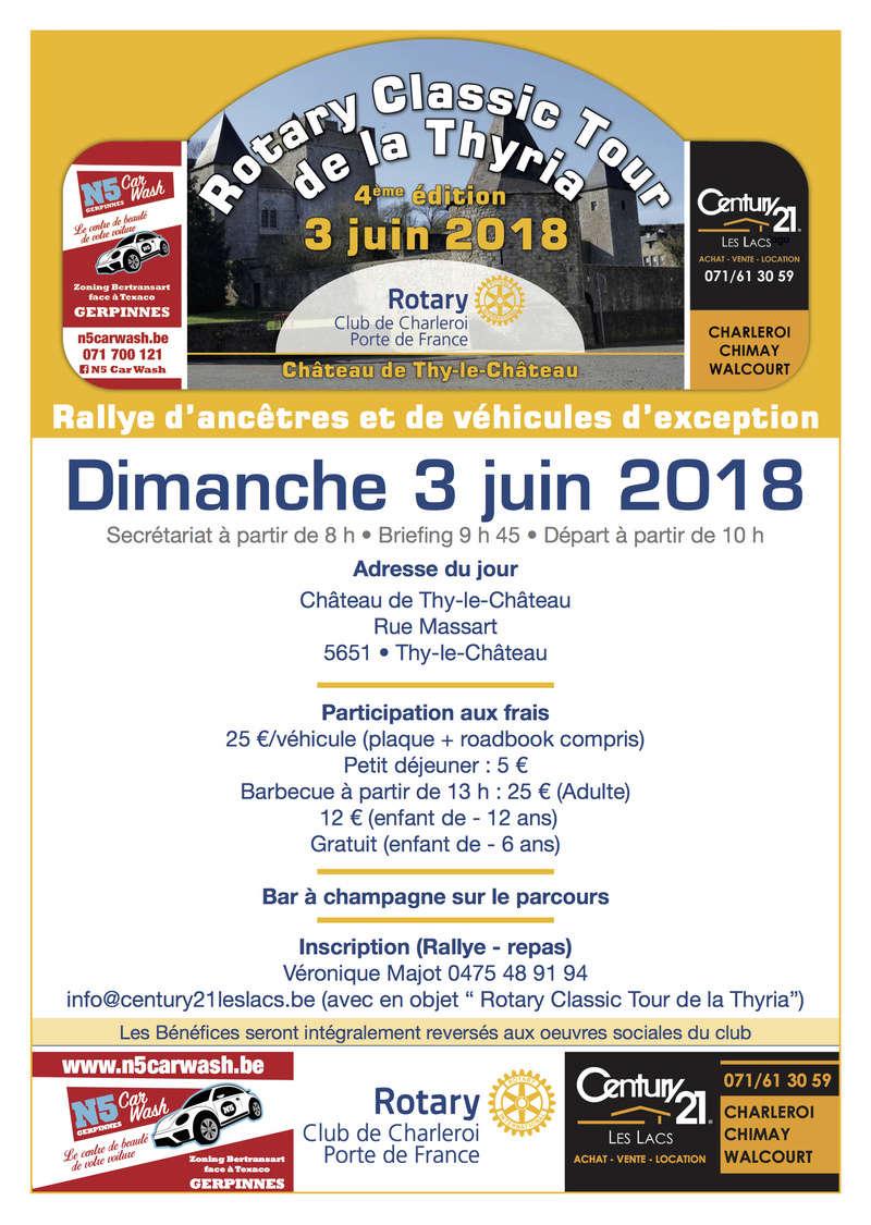 Rotary Classic Tour de la THYRIA - 03/06/2018 Thyria10