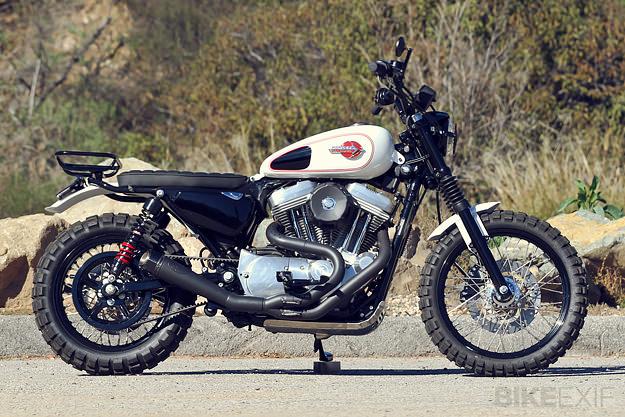 Faire un scrambler avec une XL1200C - Page 2 Harley10