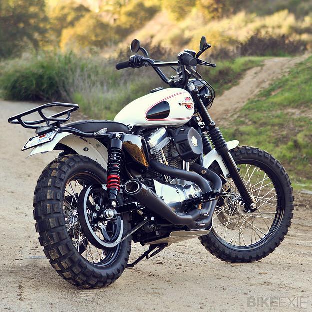 Faire un scrambler avec une XL1200C - Page 2 Harley11