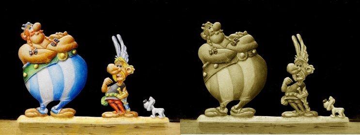 Obélix, Astérix et .. Idéfix Dsc00016