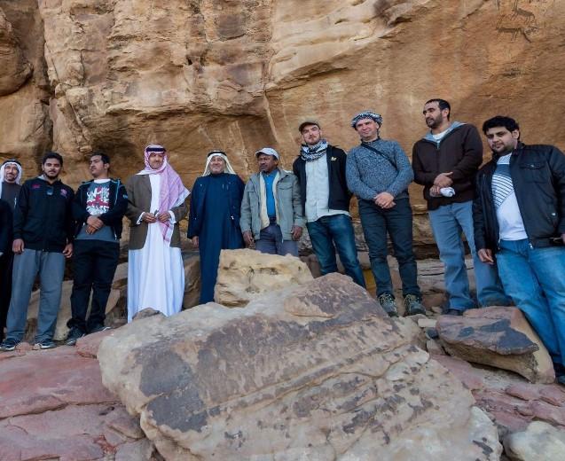 وجود بقايا إنسان بالسعودية قبل 85 ألف عام 210