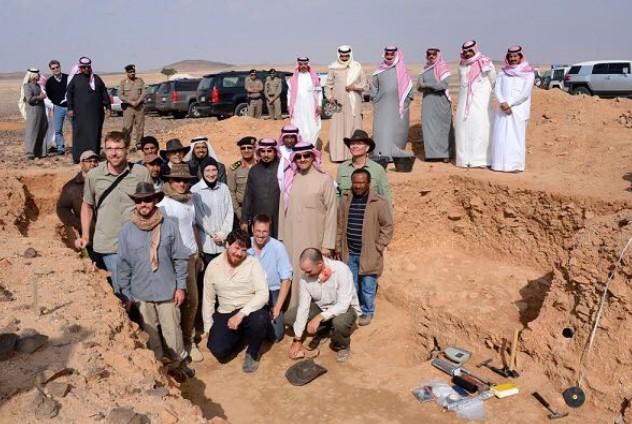 وجود بقايا إنسان بالسعودية قبل 85 ألف عام 410