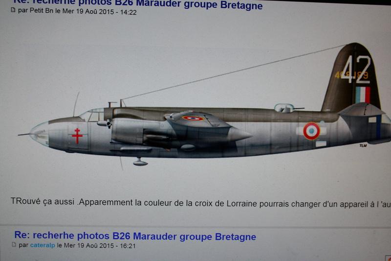 Martin B-26 Marauder - Revell - 1/72 - Page 3 Img_1658