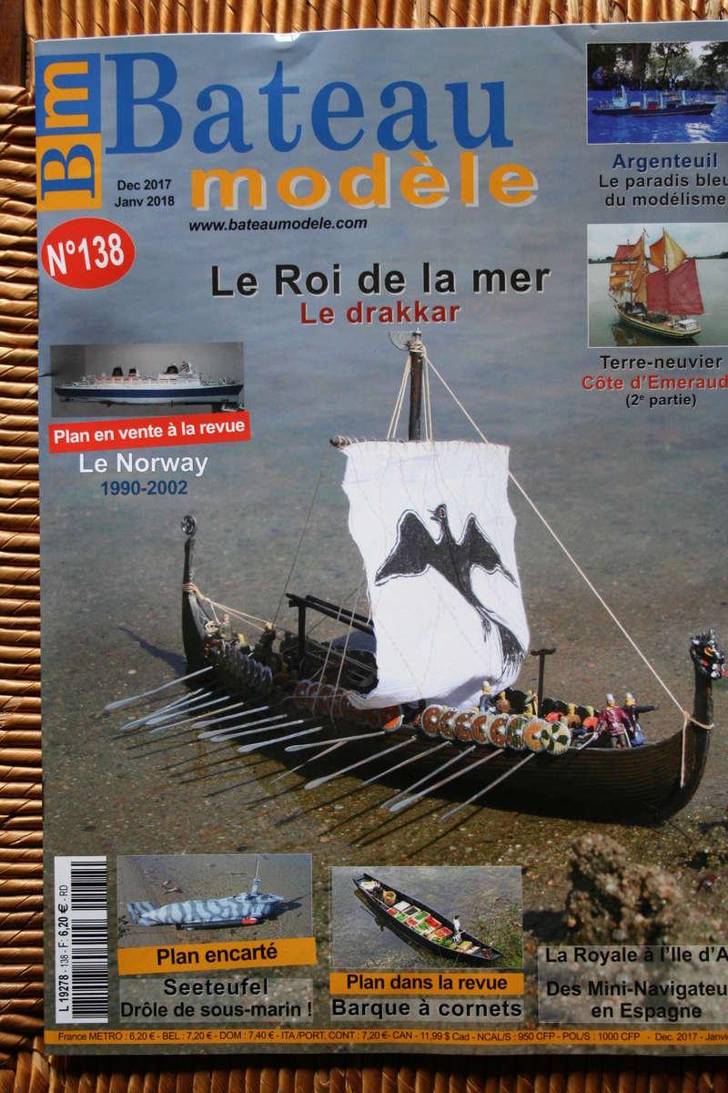 Parution du numéro 138 Bateau modèle article de JJ Le roi de la mer Img_1735