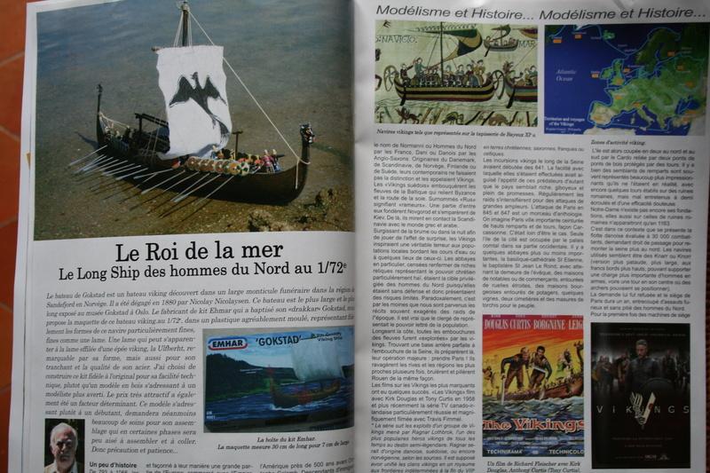 Parution du numéro 138 Bateau modèle article de JJ Le roi de la mer Img_1736