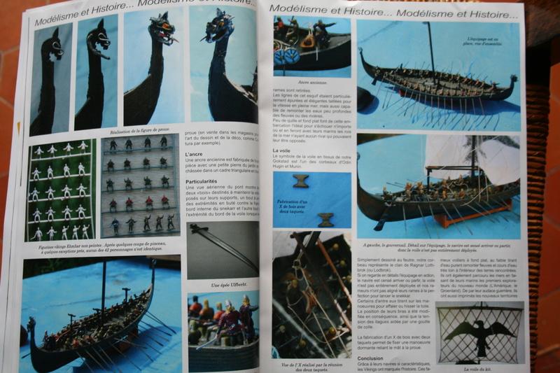 Parution du numéro 138 Bateau modèle article de JJ Le roi de la mer Img_1737