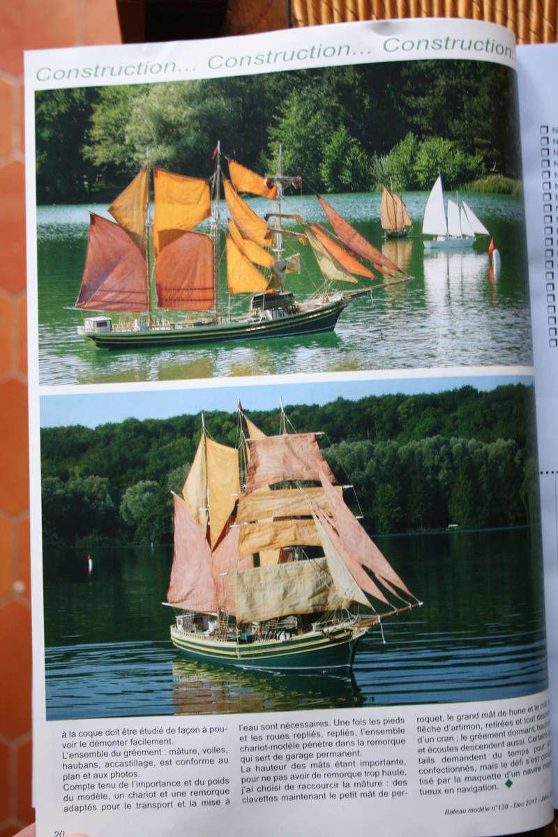 Parution du numéro 138 Bateau modèle article de JJ Le roi de la mer Img_1738