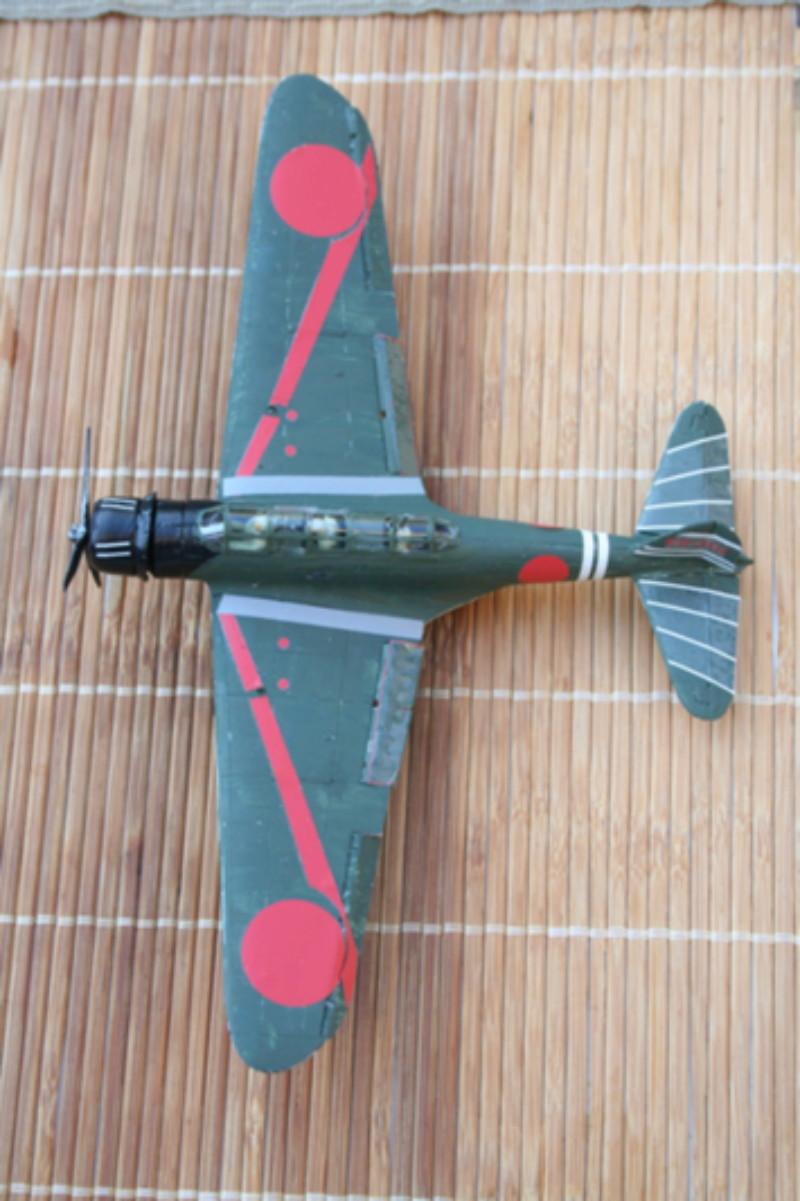 """Nakajima B5n2 """" Kate au 1/72 du Lt Commander Shigekaku Shimazaki Img_2154"""